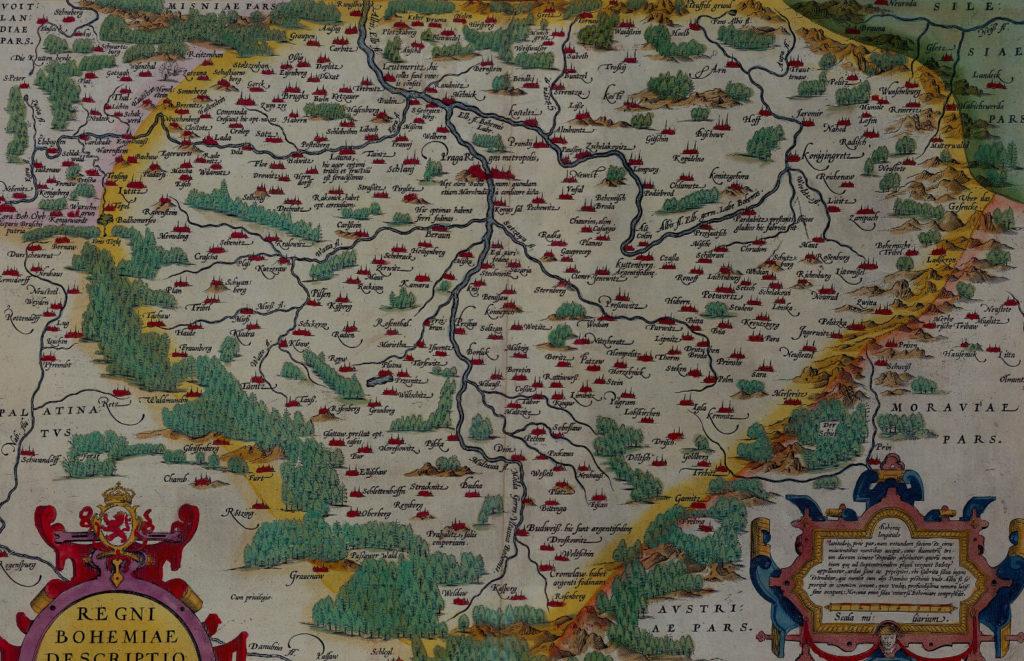 Mapa Čech