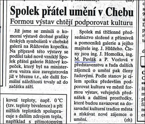 Chebský deník. 14. října 1998
