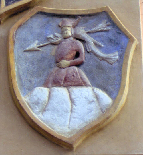 Erb Albínů z Helfenburka