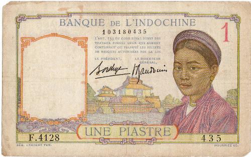 Jeden piastr – koloniální bankovka