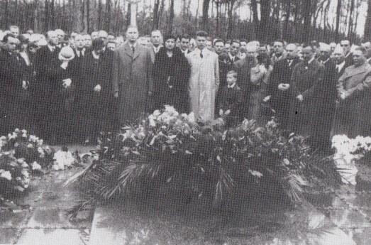 Pohřeb Tomáše Bati
