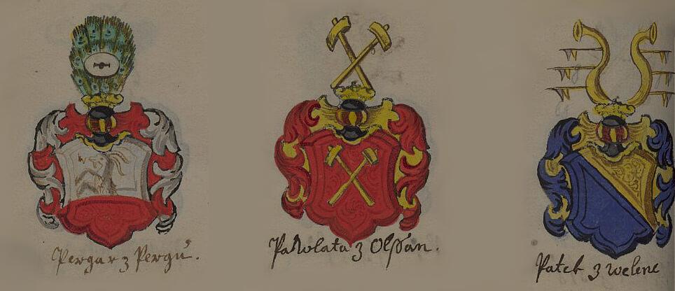 Erbovník z 80. let 17. století