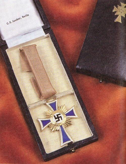 Čestný kříž německé matky