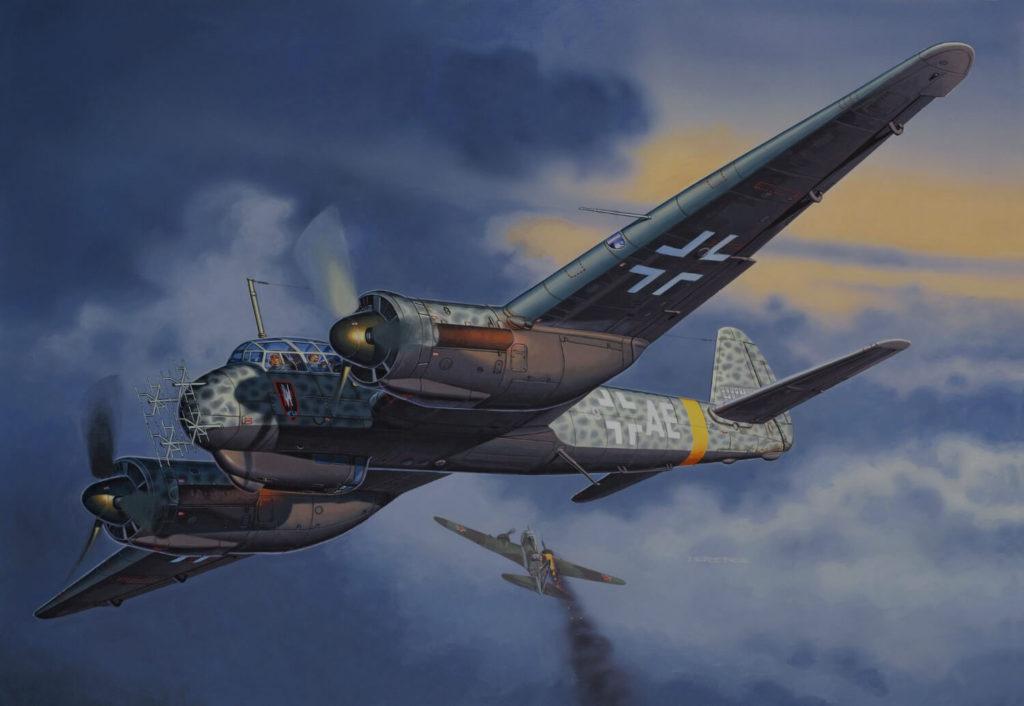 Vzdušný souboj s Luftwaffe